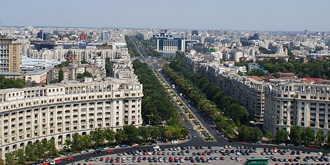 View from the Palace of Parliament in Bucharest © Wikimedia